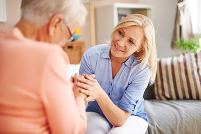 Experienced Caregivers Image - Caring for an older adult