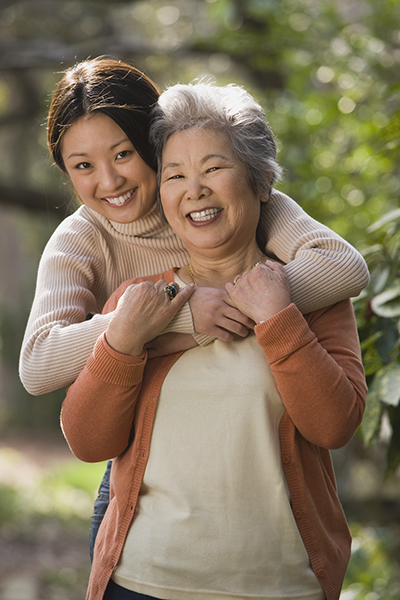New Caregivers image - Taking care of grandmother