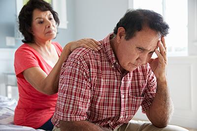 Stress-Busting Program - Stressed Husband Caregiver